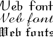 Website Fonts May Be More Important Than Graphics